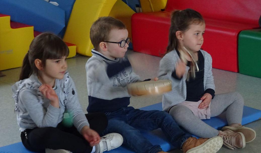 Eveil musical avec Samuel pour découvrir les émotions