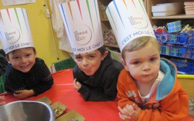 Atelier Cuisine avec Maxime, le papa de Raphaël …